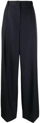 Nina Ricci striped wide-leg trousers