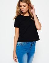 Superdry Lace Pocket Crop T-shirt