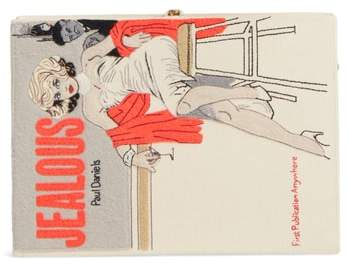 Olympia Le-Tan Jealous Book Clutch