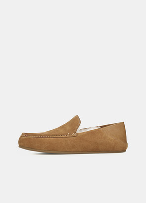Vince Shearling-Lined Gino Slipper