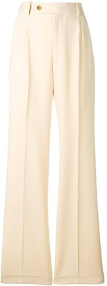Gucci Wide Leg Tailored Trousers