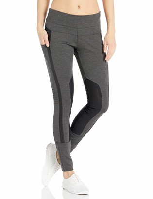 Blanc Noir Women's Performance Mesh Paneled Legging