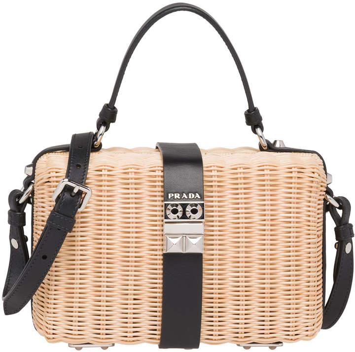 9cfa636ae607 Prada Basket Bag - ShopStyle