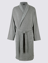 David Gandy For Autograph Pure Cotton Textured Dressing Gown