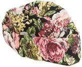 Federica Moretti Floral Jacquard Hat