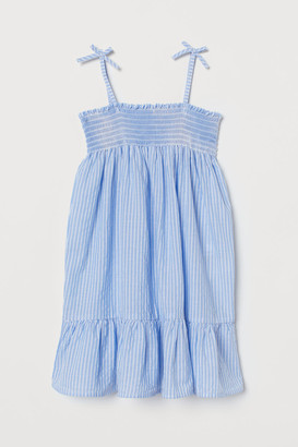 H&M Smocked cotton dress