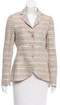 Akris Silk Tweed Blazer