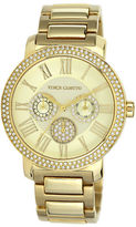 Vince Camuto Ladies' Gold-Tone Crystal-Accented Watch