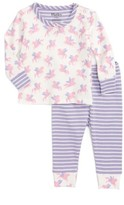 Hatley Infant Girl's Organic Cotton Fitted Two-Piece Pajamas