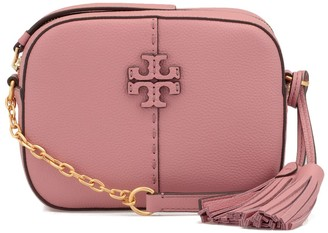 Tory Burch Pebbled Leather Mcgraw Camera Bag