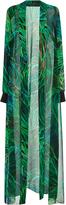 Elie Saab Sheer Printed Tunic