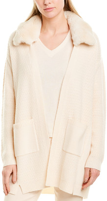 Max & Moi Wool & Cashmere-Blend Cardigan