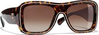 Chanel Square Sunglasses CH5395 Tortoise/Brown Gradient