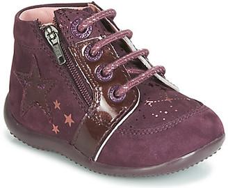 Kickers BOUSTAR girls's Mid Boots in Purple