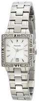 Pulsar Women's PXT695 Crystal Stainless Steel Watch