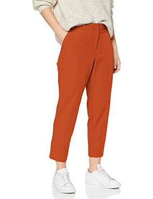 Dorothy Perkins Petite Women's Ac Indian Rust Naples Ankle Grazer Trouser,(Size:)