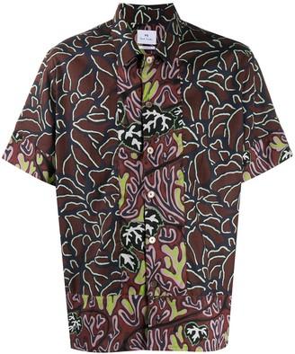 Paul Smith Mountain Floral shirt