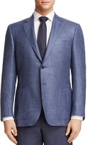Canali Houndstooth Check Classic Fit Sport Coat
