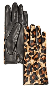 Bloomingdale's Cashmere Lined Calf Hair Gloves - 100% Exclusive
