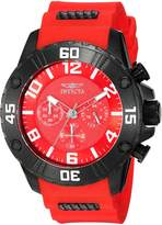 Invicta Men's 'Pro Diver' Quartz Stainless Steel and Silicone Casual Watch, Color: (Model: 22700)