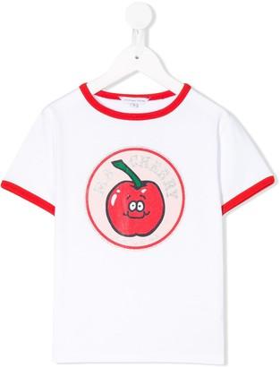 Little Marc Jacobs Ringer Cherry T-shirt