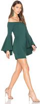 Susana Monaco Off Shoulder Dress in Green. - size M (also in )