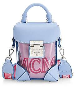 MCM Women's Mini Soft Berlin Transparent Crossbody Box Bag