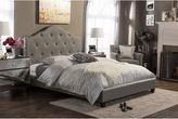 Asstd National Brand Baxton Studio Anica Upholstered Platform Bed