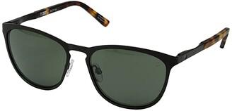 Spy Optic Cliffside (Matte Black/Matte Honey Tort/Happy Gray Green) Sport Sunglasses