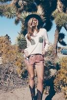 Wildfox Don't Touch Baggy Beach Jumper in Arizona Blush
