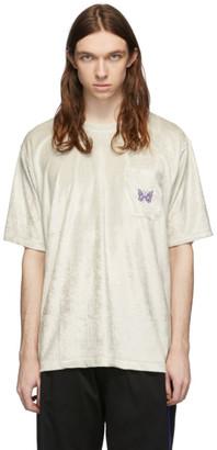 Needles Off-White Velour T-Shirt