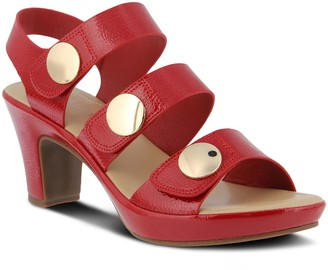 Spring Step Patrizia by Adjustable Wide Band Sandals - Triodee