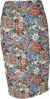 Ermanno Scervino Floral Skirt