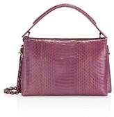 Thumbnail for your product : Nancy Gonzalez Viviana Snakeskin Top Handle Bag