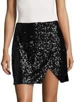 Armani Exchange Women's Sequin Embellished Skirt