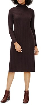 Eileen Fisher Petites Ribbed Sweater Dress