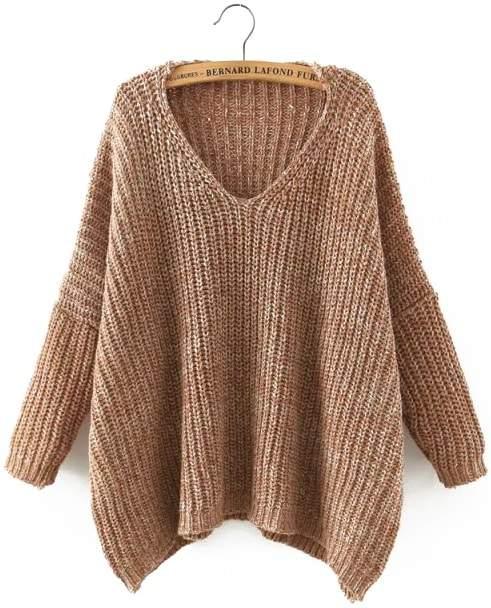 3722fbb6fa Batwing Sleeve Sweater - ShopStyle