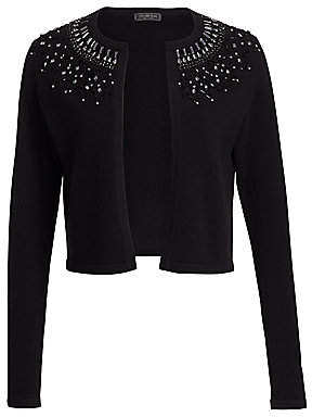 Saks Fifth Avenue Women's Embellished Cashmere Cardigan