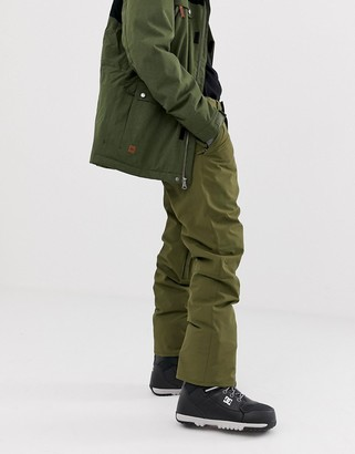 Quiksilver Estate snow pants in khaki