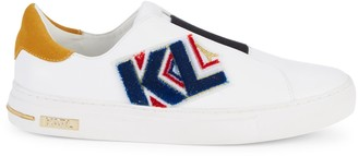 Karl Lagerfeld Paris Calix Patchwork Sneakers