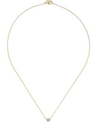 hum 18kt Gold Diamond Pendant Necklace