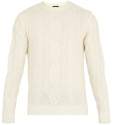 A.p.c. Jacques Yves Cable-knit Wool Sweater