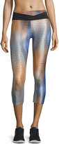 Koral Activewear Performance Crop Legging, Vertigo