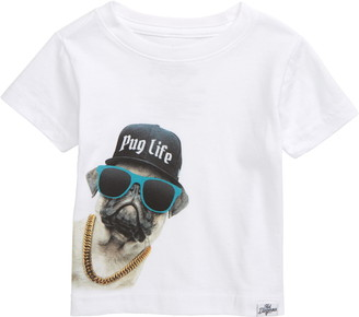 Kid Dangerous Pug Life Graphic Tee