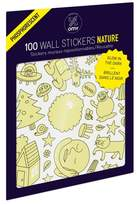 OMY Set of 100 Nature Glow in the Dark Wall Stickers