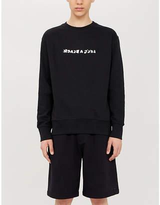 Lifes A Beach Reverse logo-print cotton-jersey sweatshirt