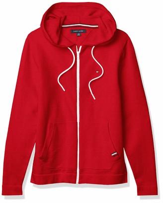 Tommy Hilfiger Men's Full Zip Hooded Sweater