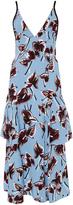 Marni Layered Ruffled Floral Dress
