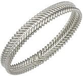 Chimento 18K White Gold Armillas Collection Ridge Waves Bracelet