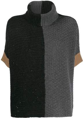 Lorena Antoniazzi colour-block jumper